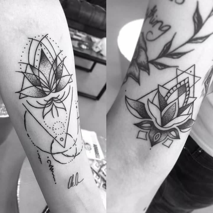 Tattoo by Franzi Kranz  Ihr hättet auch gerne ein schönes Mandala von Franzi, ab