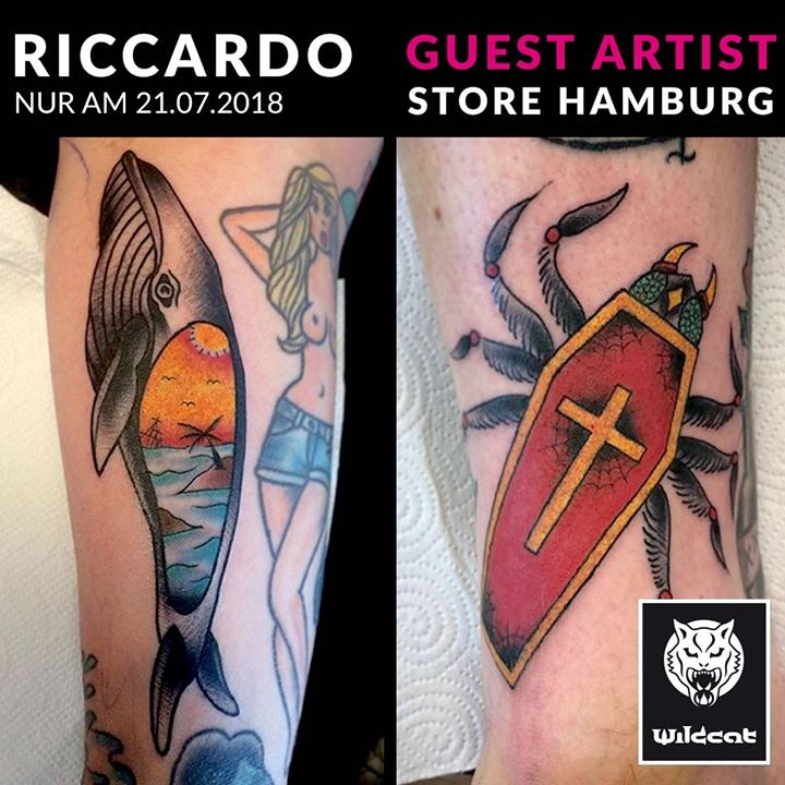 Riccardo ist für einen exklusiven Tages Guest Spot bei uns in Hamburg zu Gast!