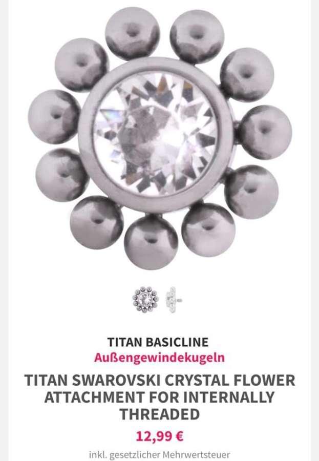 Neue Aufsätze aus Titan...auch als Ersteinsatz möglich