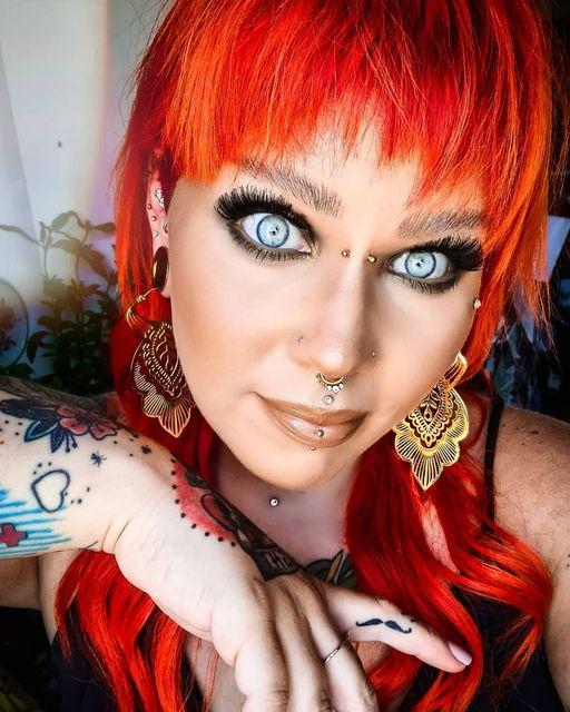 Oh WOW diese Augen - Folgt @meikemeikchen auf Insta! Ein echter Hingucker - Und