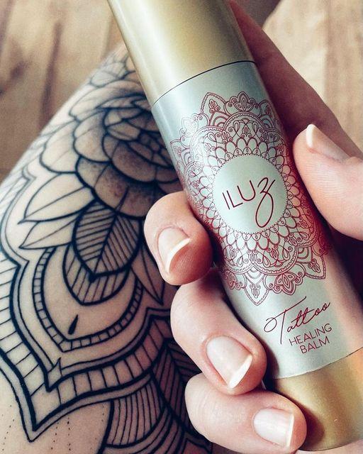 ILUZ.   Kennt ihr schon den tollen Iluz Tattoo-Healing Balm? Er pflegt das frisc