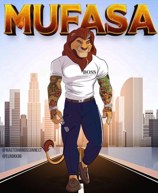 Mufasa  #thelionking @mastermindsconnect  @Elrokk