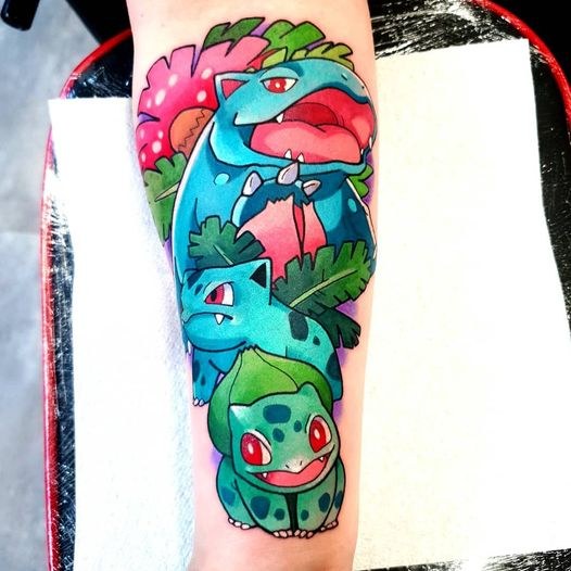 Super cute tattoo by @sabstars! Very talented female artist from the UK  What do