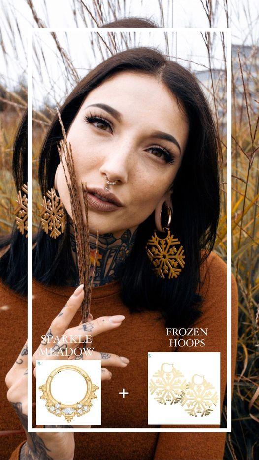 Sparkle Meadow + Frozen Hoops =        @blackxsiren x @lauragraphy97